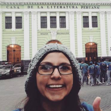 Abril de Romero Casa de la literatura peruana