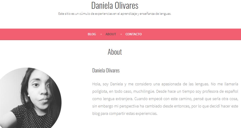 Blog de Daniela Olivares