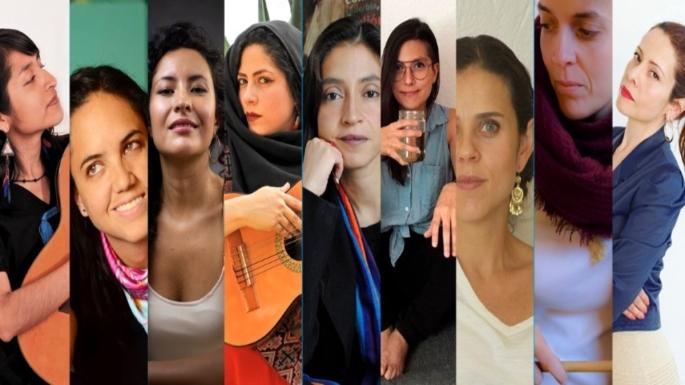 Primer encuentro de mujeres en el arte